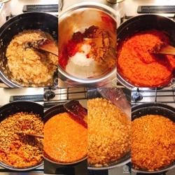 レンズ豆と鶏ひき肉のキーマカレー_a0059035_22224035.jpg