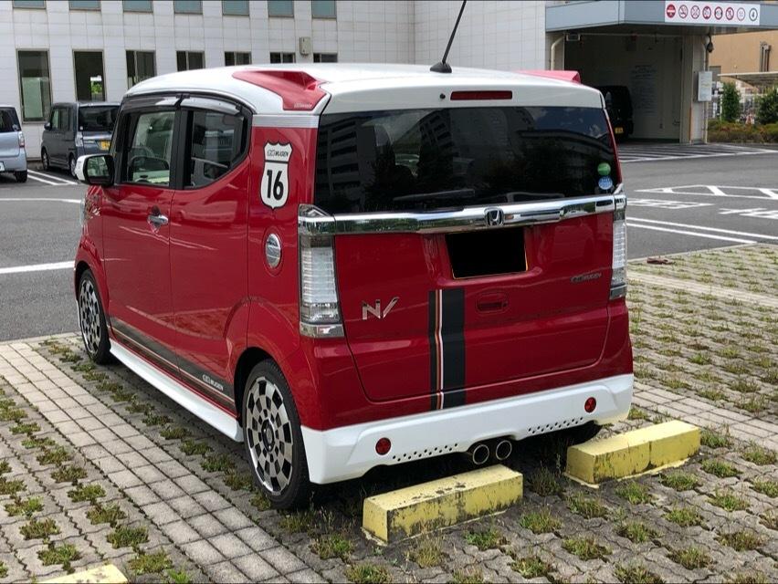 希少車の自動車登録業務 無限N-BOX SLASH_a0359239_19514494.jpg