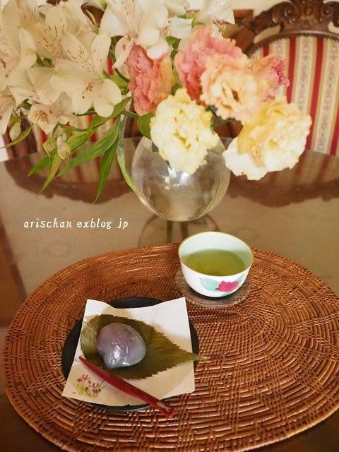くず桜@京都の和菓子_e0406439_07373829.jpg