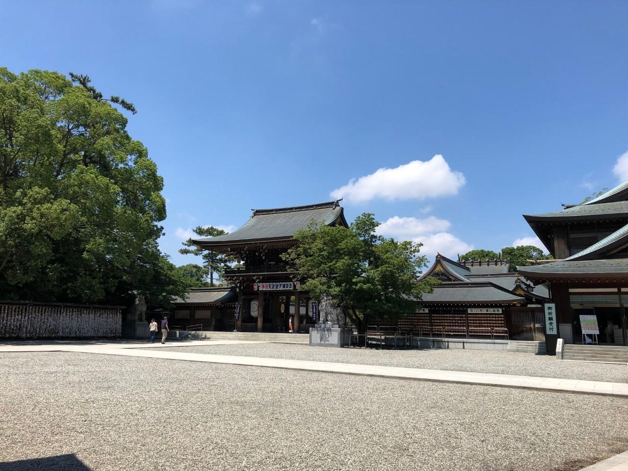 寒川神社へ「大祓い」_c0152341_08145710.jpg