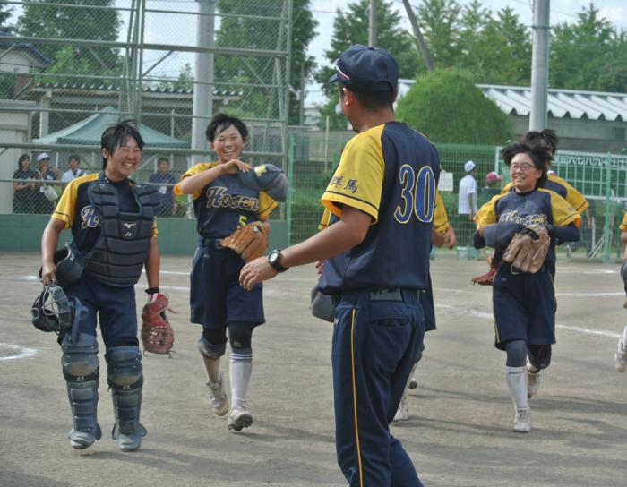 高校ソフトボールインターハイ予選!_d0106648_17303860.jpg