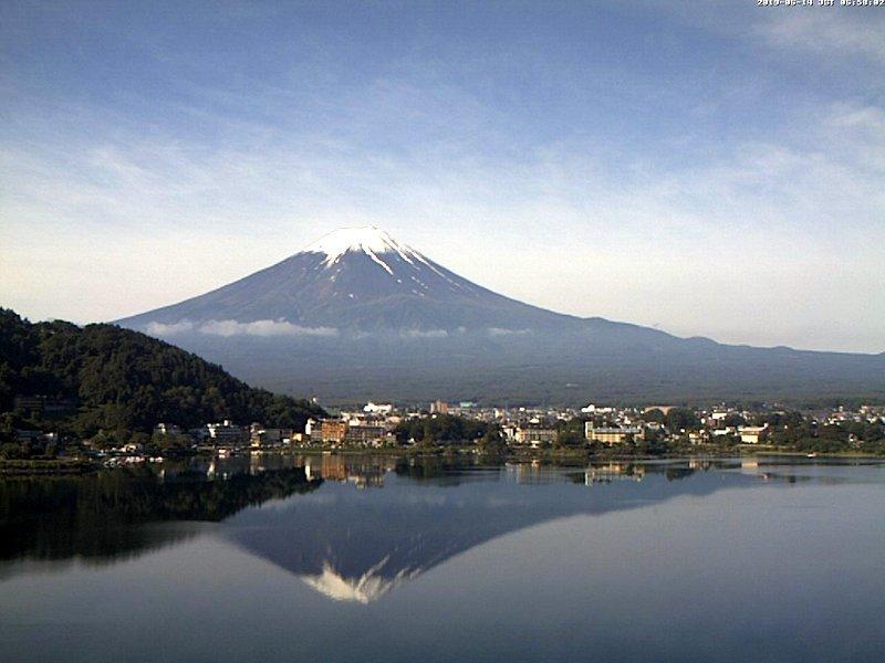 2019年6月14日 本日の富士山_e0037849_13175443.jpg