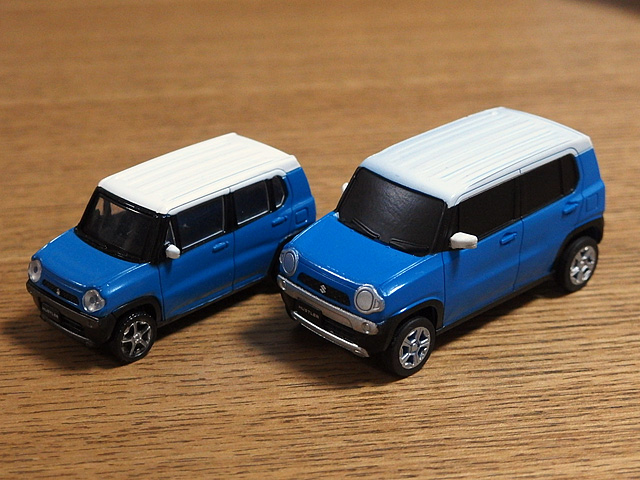 ハスラーのミニカー、ガチャなど おもちゃまとめ_b0006870_21435739.jpg