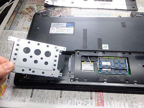 ノートPC ASUS K53E ファン清掃 & 電池交換 _e0146484_13222394.jpg
