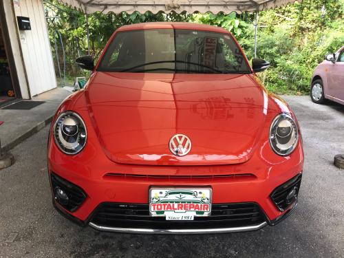 VW ビートル【マニキュアコート】_d0351087_08345357.jpg