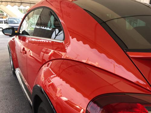 VW ビートル【マニキュアコート】_d0351087_08350329.jpg