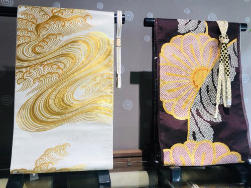 梅垣の美しい帯、伝統と革新@こもものや玖_f0083294_16482125.jpg