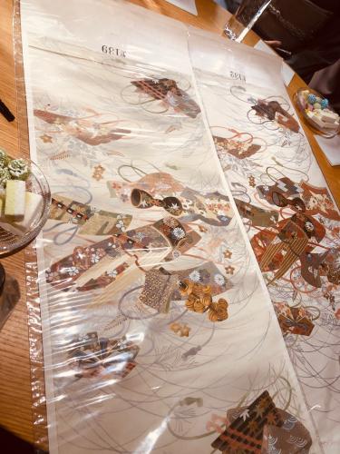 梅垣の美しい帯、伝統と革新@こもものや玖_f0083294_16485580.jpg