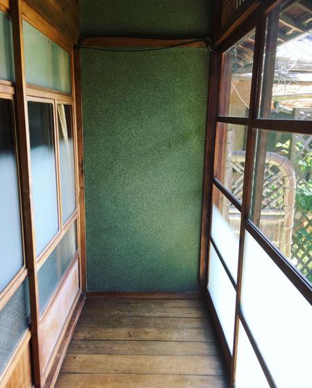 縁側のリノベーション。〜 古いじゅらく壁に珪藻土を塗る〜_d0077603_08041034.jpg