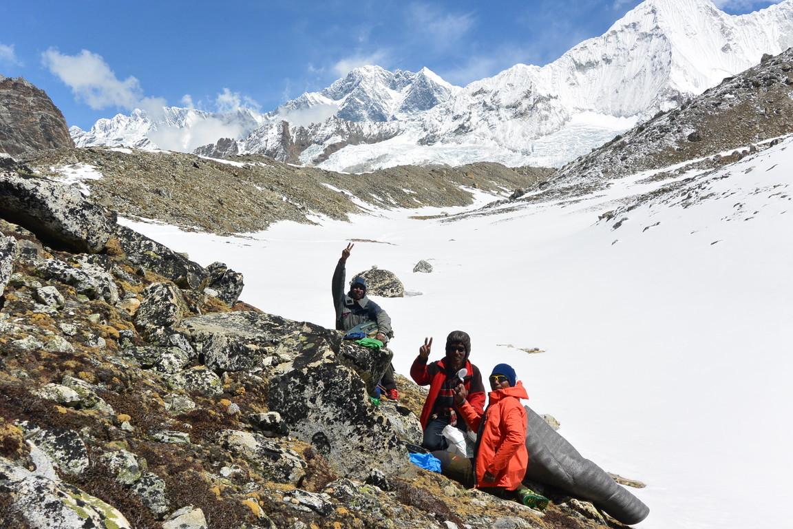 """2019年5月『ヒマラヤピークトレッキング 3 : アンプ・ラプチャ峠越え』 May 2019 \""""Himalaya Peak Trekking 3:Amphu Labcha La\""""_c0219616_18102633.jpg"""