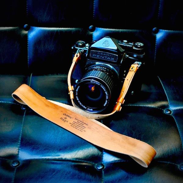 pentax 67 leather strap_b0172633_20550441.jpg