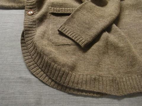 11月の製作 / classic knit longcardigan_e0130546_18254180.jpg