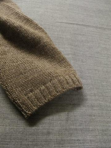 11月の製作 / classic knit longcardigan_e0130546_18255650.jpg