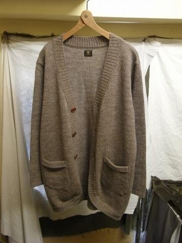 11月の製作 / classic knit longcardigan_e0130546_18263706.jpg