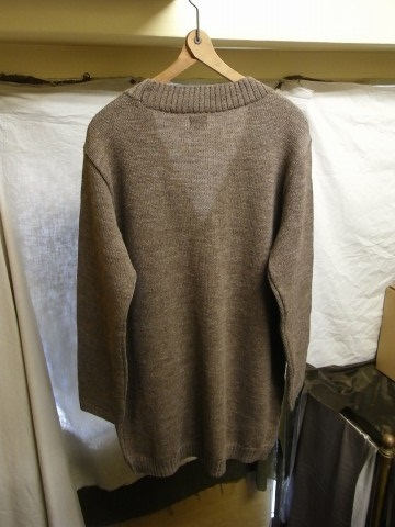 11月の製作 / classic knit longcardigan_e0130546_18272240.jpg