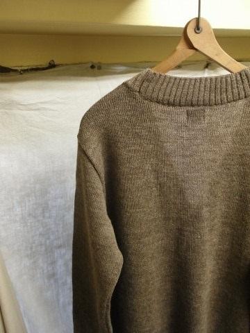 11月の製作 / classic knit longcardigan_e0130546_18273657.jpg