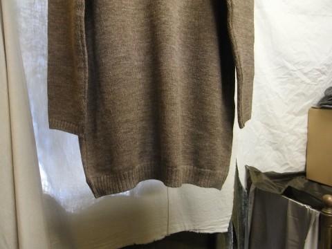 11月の製作 / classic knit longcardigan_e0130546_18274895.jpg