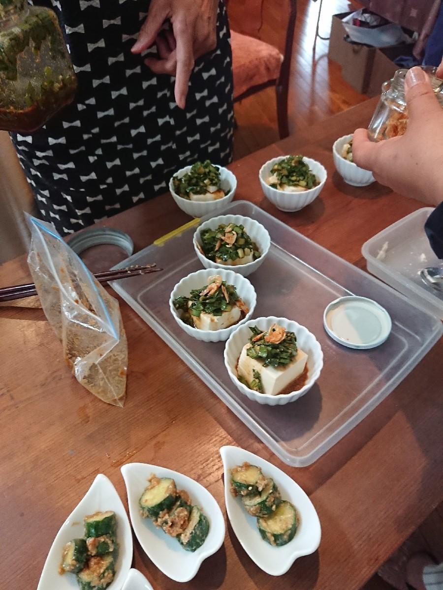 「優しい時間」6月前半の料理教室が終了致しました。_f0323446_01165042.jpg