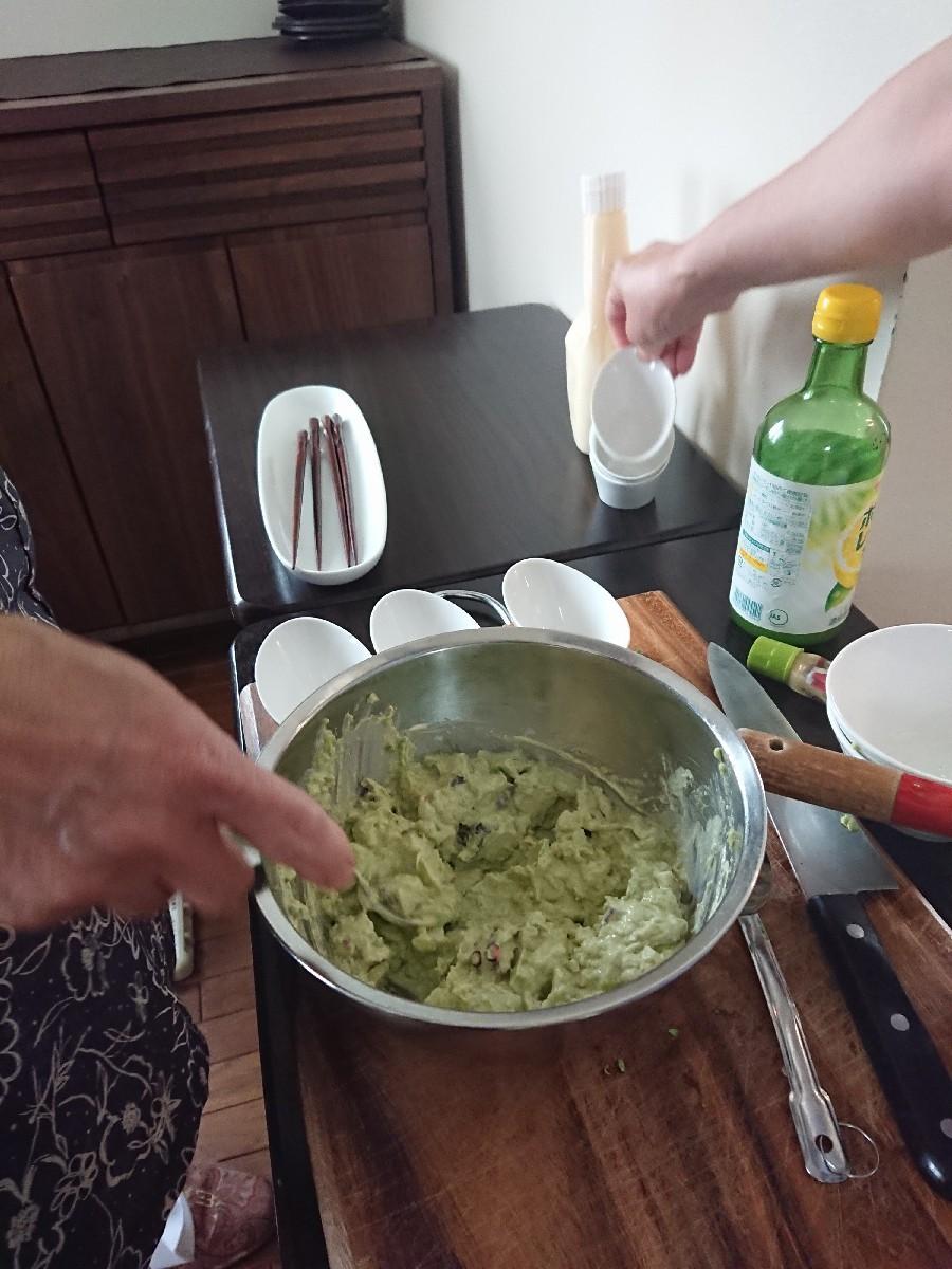 「優しい時間」6月前半の料理教室が終了致しました。_f0323446_01165052.jpg