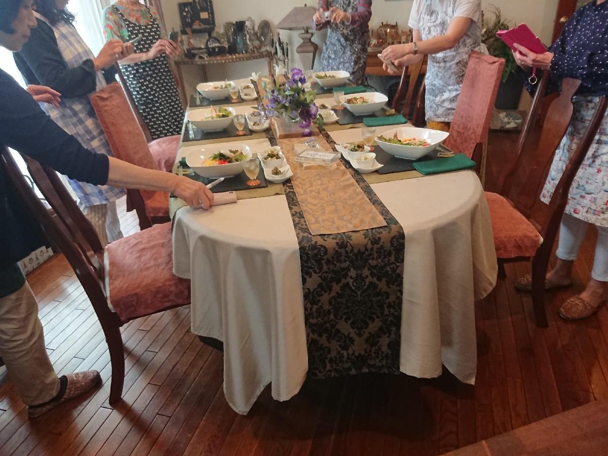 「優しい時間」6月前半の料理教室が終了致しました。_f0323446_01180086.jpg