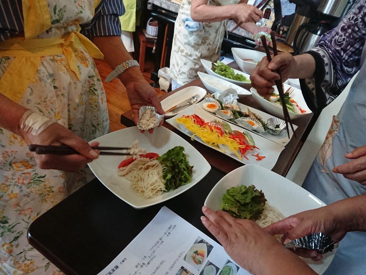 「優しい時間」6月前半の料理教室が終了致しました。_f0323446_07100527.jpg