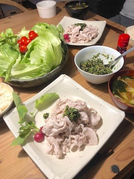 豚しゃぶサラダ 葱だれ_f0054859_17223589.jpeg