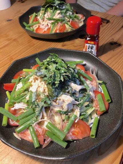 香味野菜ぶっかけうどん_f0054859_18105274.jpeg