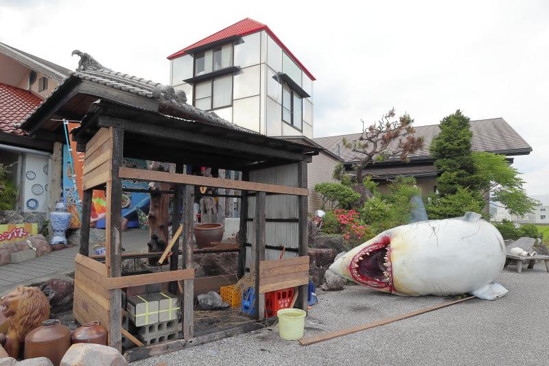 「瀬戸の滝」の後は、れストラン ゆず庵へ_a0077663_13322101.jpg