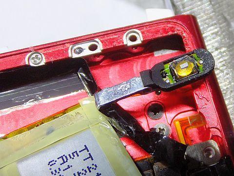 iPod nano 第6世代 スイッチ修理_e0146484_10535320.jpg