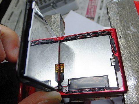 iPod nano 第6世代 スイッチ修理_e0146484_10540317.jpg