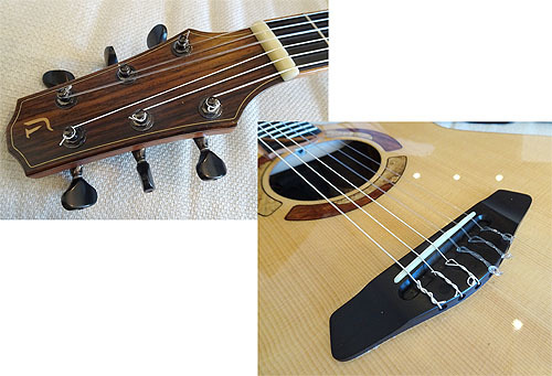 ヨコヤマギター「AR-WR #300」 にガット弦を張ってみた!_c0137404_19273201.jpg