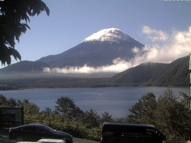 2019年6月16日 朝の富士山ライブカメラ_e0037849_07381140.jpg