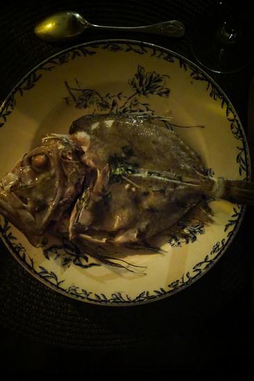 ニョッキと変な顔の魚  les gnoccis et St Pierre_e0206902_3183525.jpg