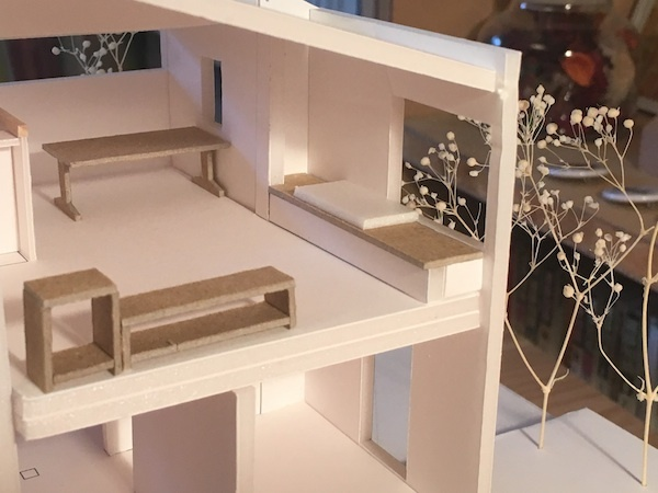 西東京市の家 模型スタディ_b0038919_11475582.jpg