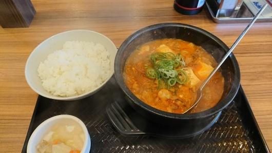 カルビ丼とスン豆腐専門店 韓丼 東岡山店 _d0030026_01160155.jpg