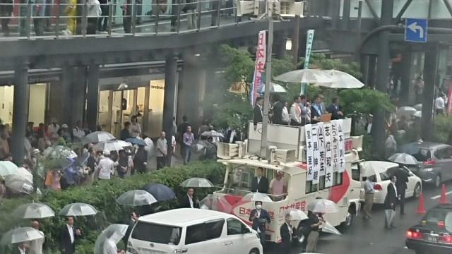 日本共産党街頭演説inヨドバシカメラ前_c0348636_23581501.jpg