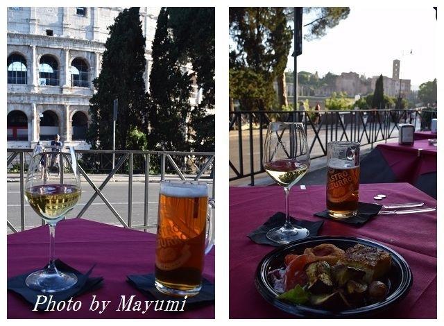 Happy Hour@コロッセオ、オッピオ・カフェ♪_c0206352_22300163.jpg