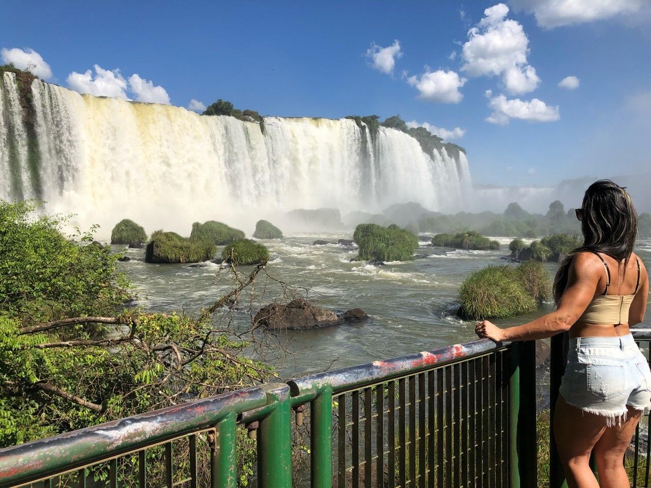 中南米の旅/59 フロリアーノ滝でびしょ濡れ!@イグアス_a0092659_19035110.jpg