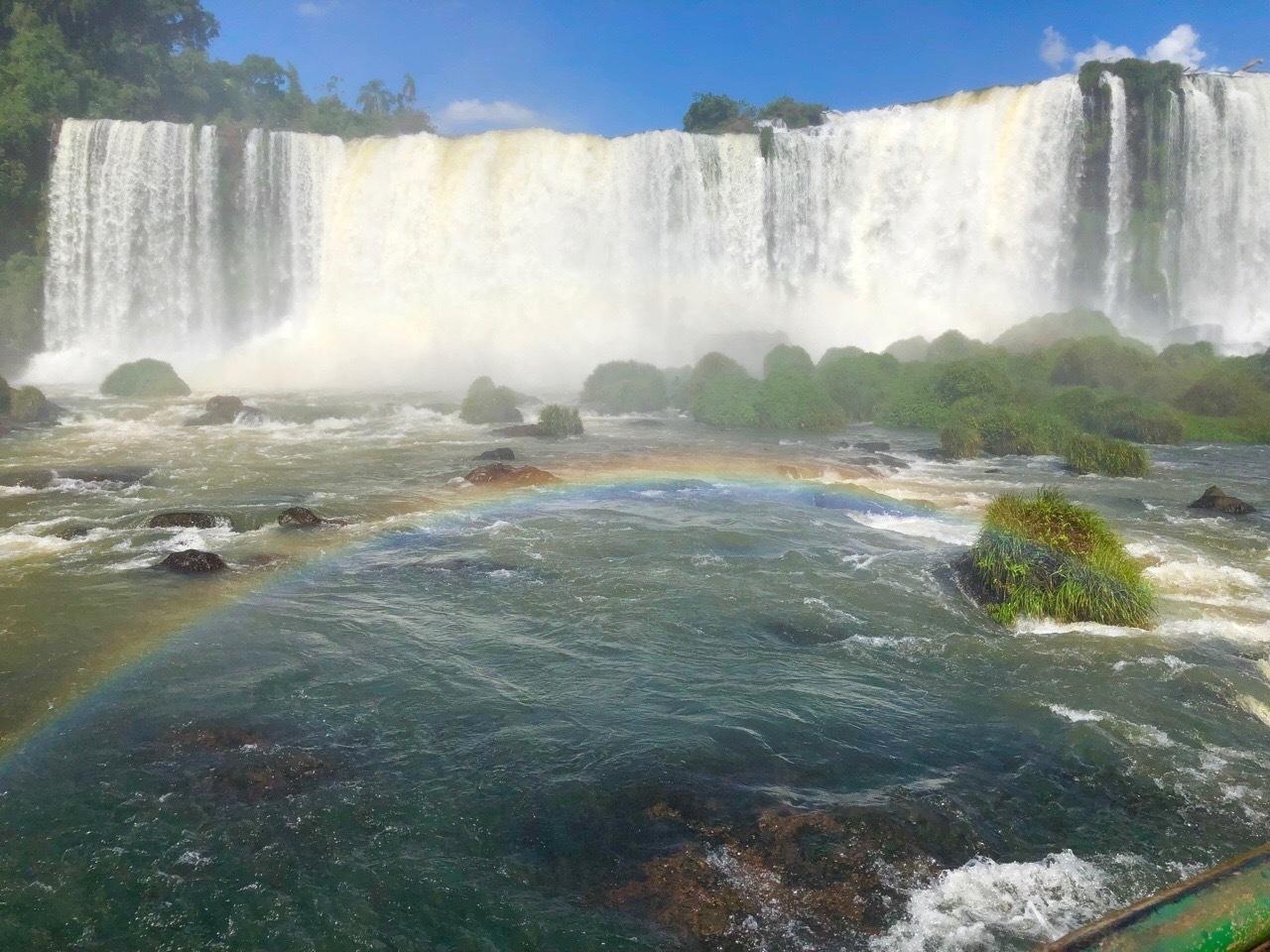 中南米の旅/59 フロリアーノ滝でびしょ濡れ!@イグアス_a0092659_19085154.jpg