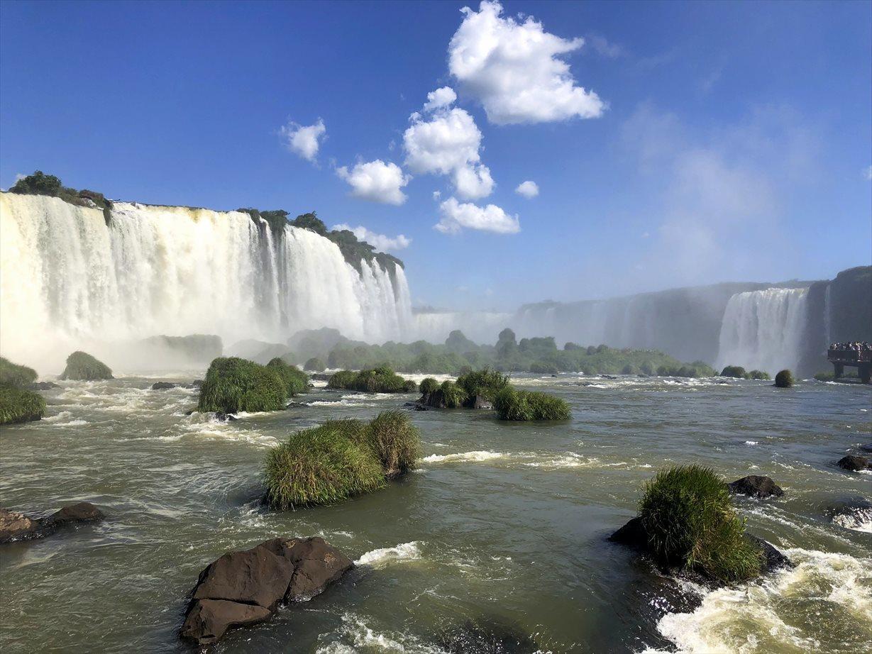 中南米の旅/59 フロリアーノ滝でびしょ濡れ!@イグアス_a0092659_19163521.jpg