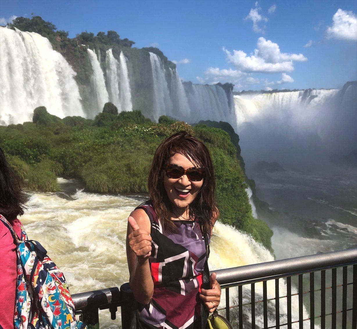 中南米の旅/59 フロリアーノ滝でびしょ濡れ!@イグアス_a0092659_19164239.jpg