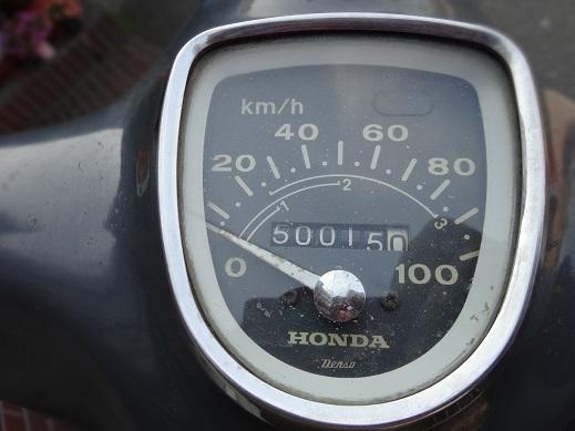 50.000キロでオイル交換_a0064474_16354224.jpg