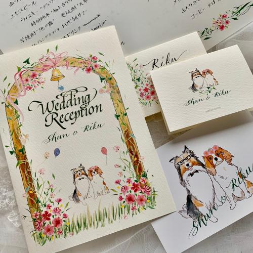 森の結婚式シリーズ_b0105897_16335507.jpg