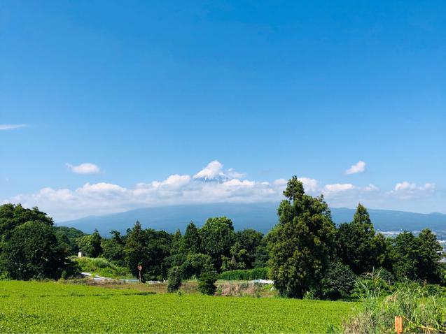 富士宮からの富士_e0061304_07111472.jpg