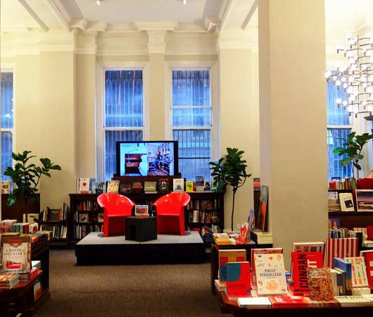 自称「ニューヨークでもっとも美しい本屋」Rizzoli Bookstore_b0007805_10231454.jpg