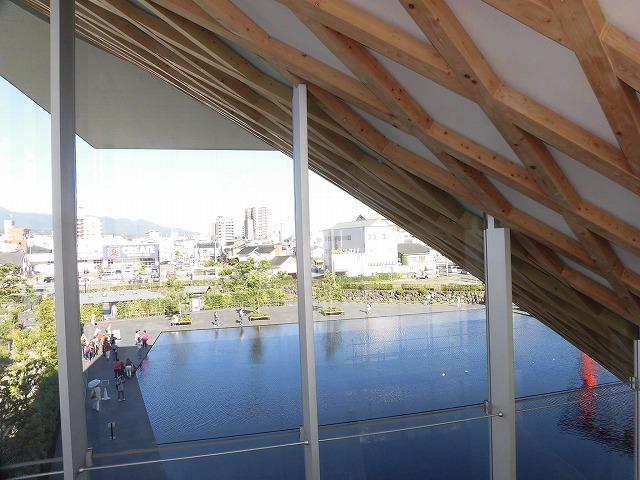 オープンから1年半後の初訪問 あの坂茂氏設計の「静岡県富士山世界遺産センター」_f0141310_07423954.jpg