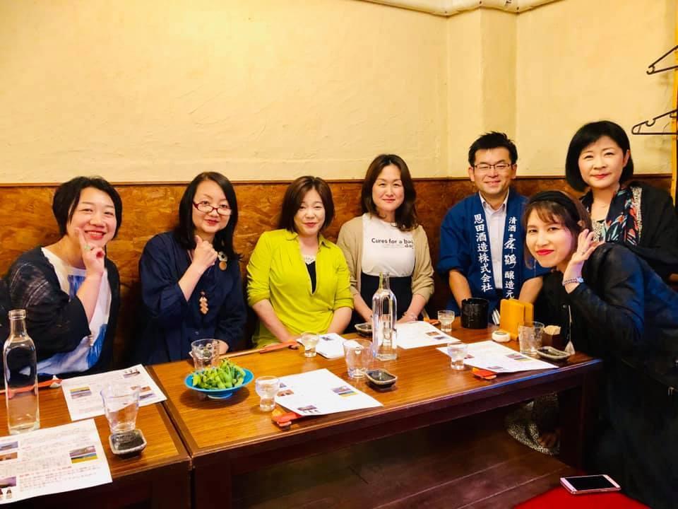 恩田酒造 酒の会へ_a0126418_16470949.jpg