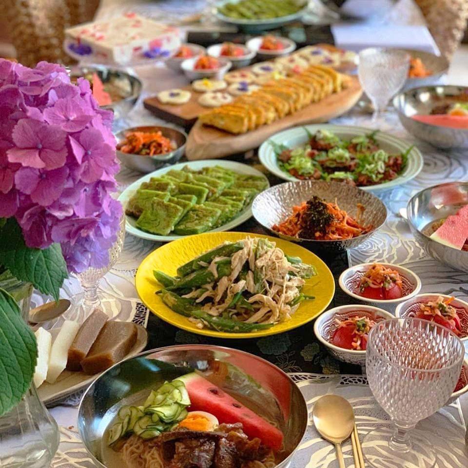 韓国料理教室 おさらい1_d0377645_23372406.jpg