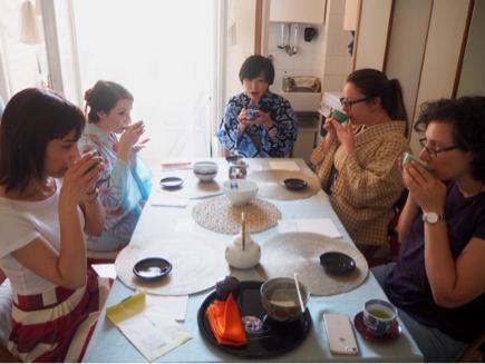 お抹茶ワークショップ in ミラノ_e0078071_05292115.jpg