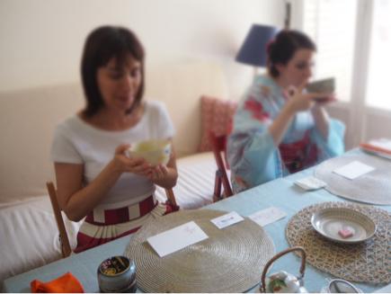 お抹茶ワークショップ in ミラノ_e0078071_05560992.jpg